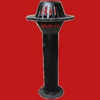 Воронка водосточная кровельная ВУ-100 фото
